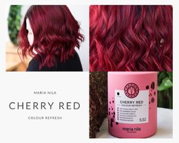 Maria Nila Colour Refresh Cherry Red