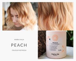 Maria Nila Colour Refresh Peach